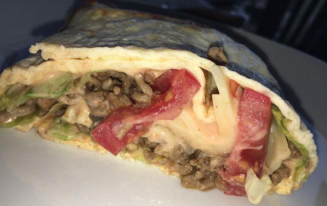 Low Carb Big Mac Rolle - Rezept für den gesunden \