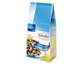 Kölln Müsli Schoko mit 30% weniger Zucker