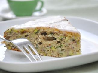 Low Carb Zucchini-Kuchen