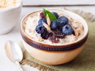 Porridge hält lange satt