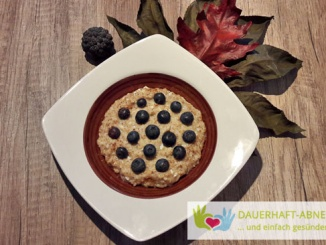 Heidelbeer-Amaranth-Porridge