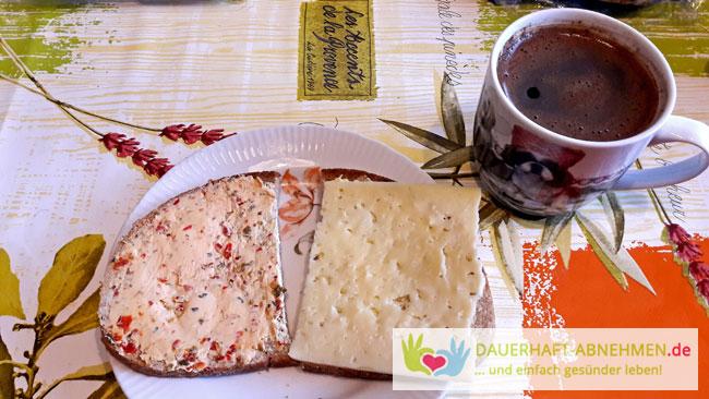 Mischbrot mit Käse