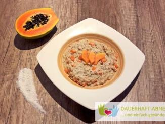 Kokos-Papaya-Porridge