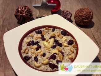 Cranberry-Amaranth-Nuss-Porridge