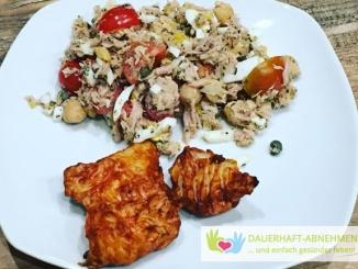 Thunfisch-Salat mit Hühnchenfilet