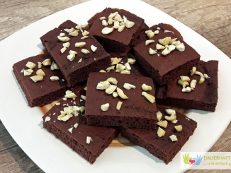 Low Carb Brownies aus Kidneybohnen