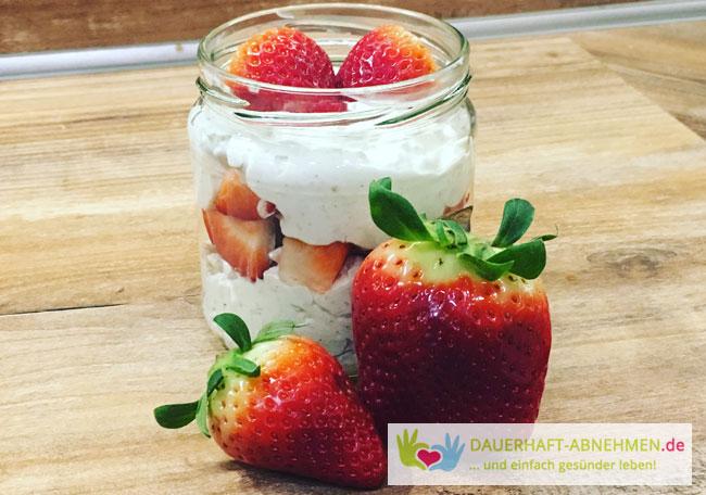 Cheesecake Strawberry Overnight Oat