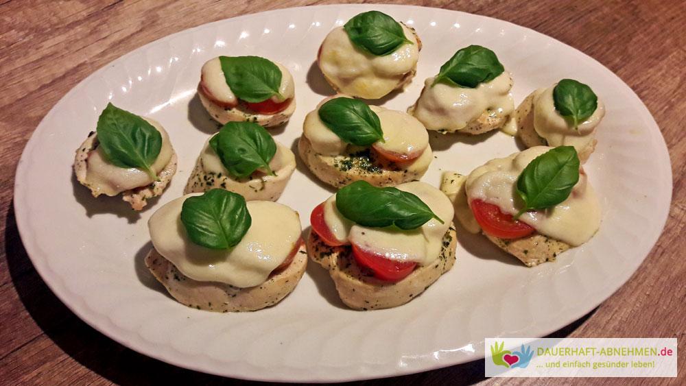 Tomaten-Mozzarella-Hähnchen