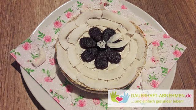Rezept Mohn Quark Kuchen Mit Kokosboden