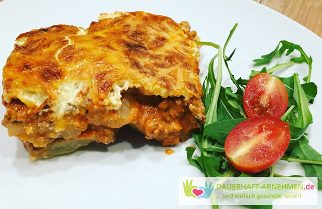 rezept low carb lasagne mit kohlrabi. Black Bedroom Furniture Sets. Home Design Ideas