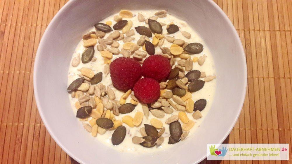 Porridge mit Joghurt
