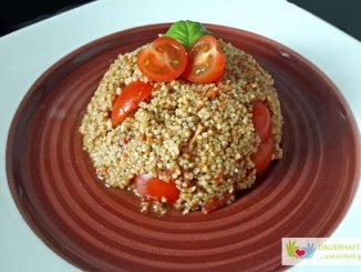 Taboulé mit Tomaten