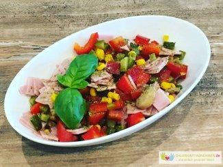 Pizza-Salat