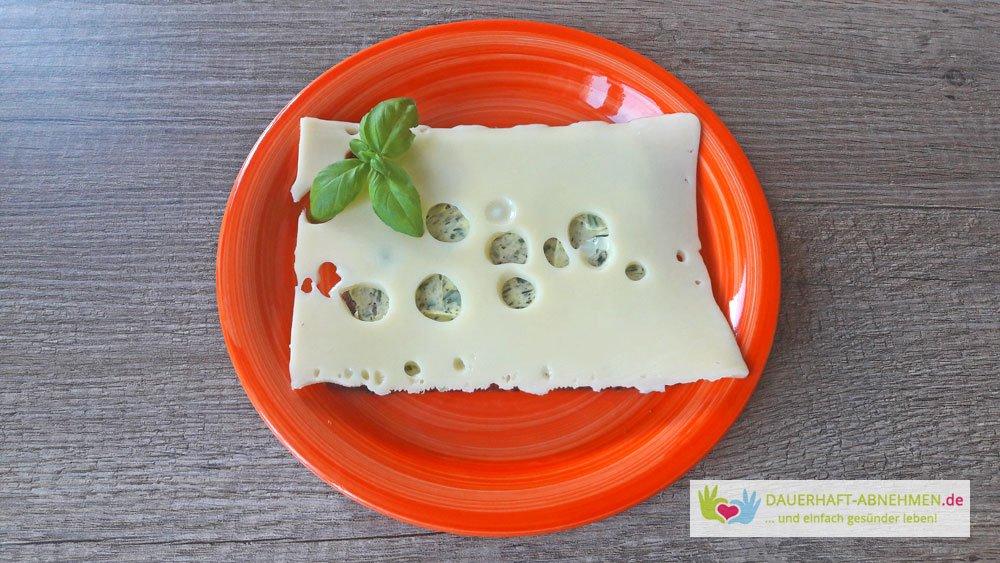 Eiweißbrot mit Käse