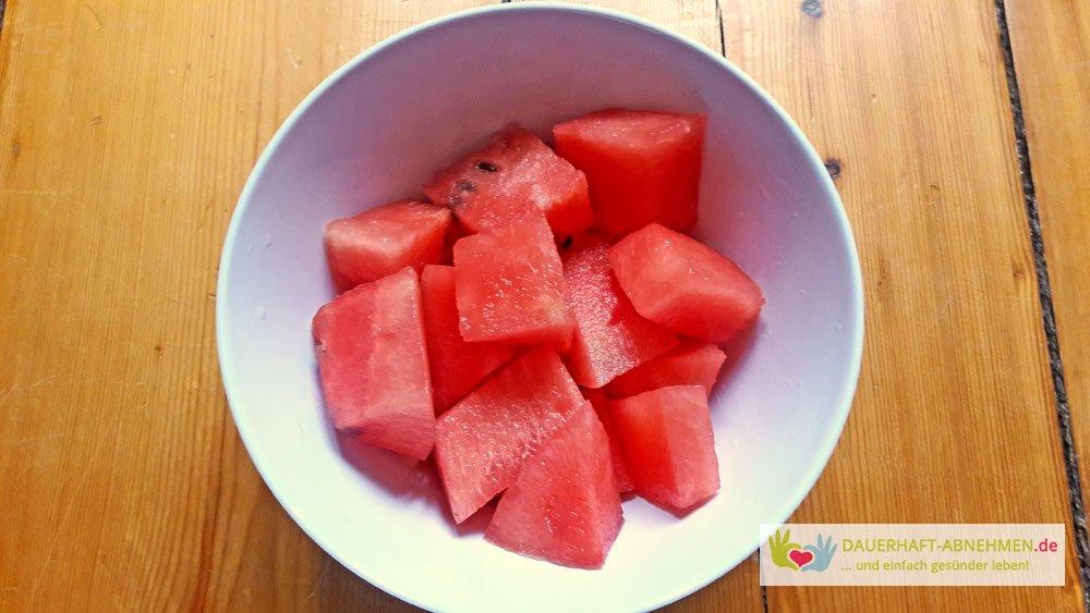Tag 255 Porridge Mit Fruchtmus Eiersalat Und Wassermelone