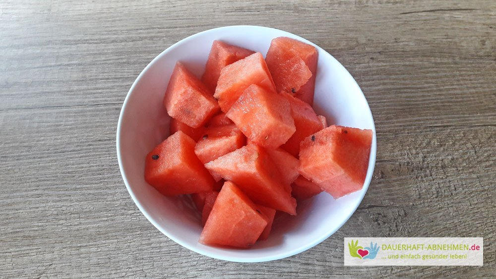 Tag 262 Eiweissbrot Wassermelone Und Paprika Hahnchen