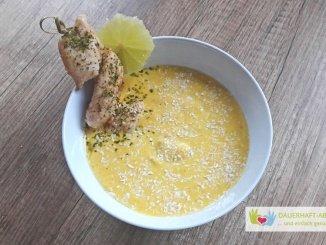 Asia-Suppe mit Hähnchenbrust