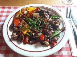 Rindfleisch-Gemüse-Pfanne