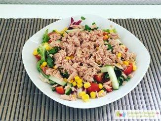 Thunfisch Salat ohne Zwiebel