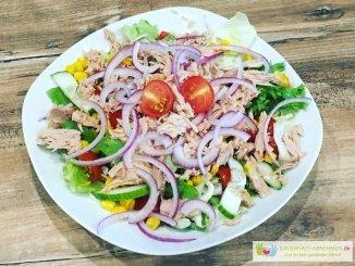 Thunfisch-Zwiebel-Salat