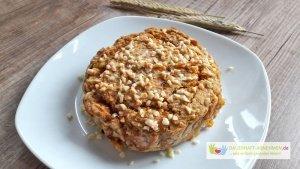 Baked Oatmeal á la Karottenkuchen (Baked Carrot Cake Oatmeal)