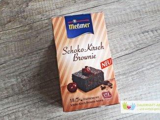 Tee à la Schoko-Kirsch-Brownie