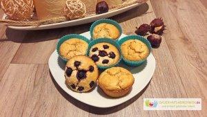 Apfelmus-Haferflocken-Muffins