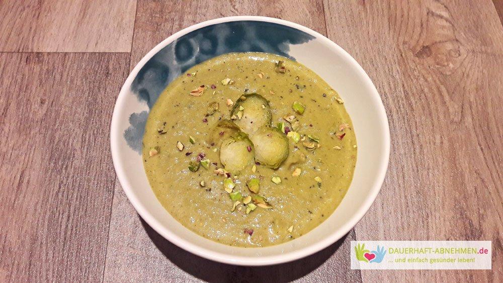 suppe zum abnehmen rezept, rezept: low carb rosenkohlsuppe mit curry und kokosmilch, Design ideen