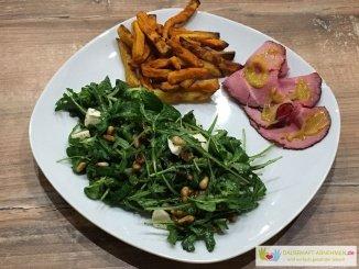 Salat Roast Beef Pommes