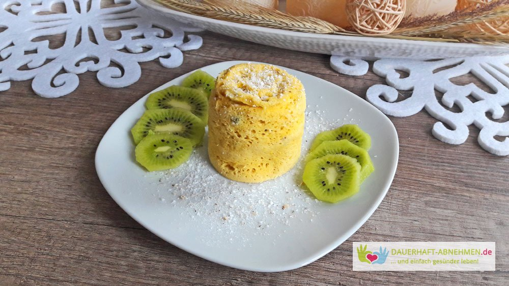 Rezept Low Carb Tassenkuchen Aus Der Mikrowelle Mugcake