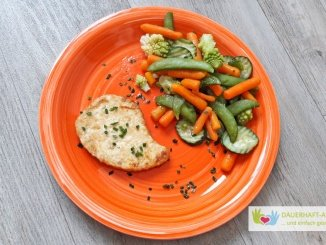 Gemüse und vegetarisches Steak