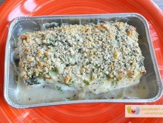 Fischfilet mit Brokkoli und Senfsauce